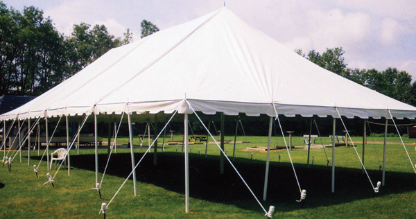 Custom Canvas - Pole Tents & Custom Canvas Tents And More